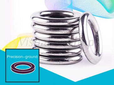 BKK massieve ringen zijn vervaardigd uit hoogwaardig roestvrij staal