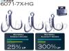BKK GT-REX model 6071-7X-HG treble hook
